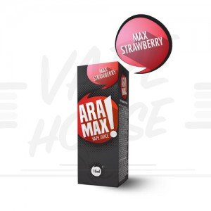 Max Strawberry 10ml e-šķidrums no Aramax - E-Šķidrumi