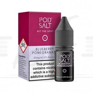 Blueberry Pomegranate Salt 10ml e-šķidrums no Pod Salt - E-Šķidrumi